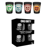 Call of Duty Pack de 4 Vasos de Chupitos Premium Perks
