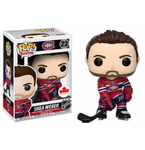 NHL POP! Hockey Vinyl Figura Shea Weber 9 cm