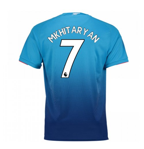 Camiseta 2017/18 Arsenal 2017-2018 Away (Mkhitaryan 7)
