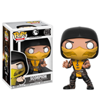Mortal Kombat POP! Games Vinyl Figura Scorpion 9 cm