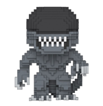 Alien 8-Bit POP! Horror Vinyl Figura Alien 9 cm