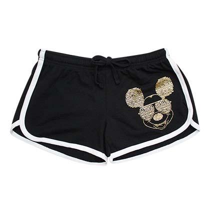 lo último c861b dc1ae Pantalón corto de playa Mickey Mouse de mujer