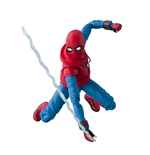 Spider-Man Homecoming Figura S.H. Figuarts Spider-Man Homesuit & Option Act Wall 15 cm
