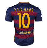 Camiseta FC Barcelona 2015-2016 Home personalizable