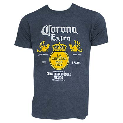 Camiseta Coronita Bottle Label