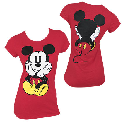 Camiseta Mickey Mouse de mujer