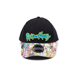 Rick & Morty Gorra Béisbol Sublimated Print Curved Bill