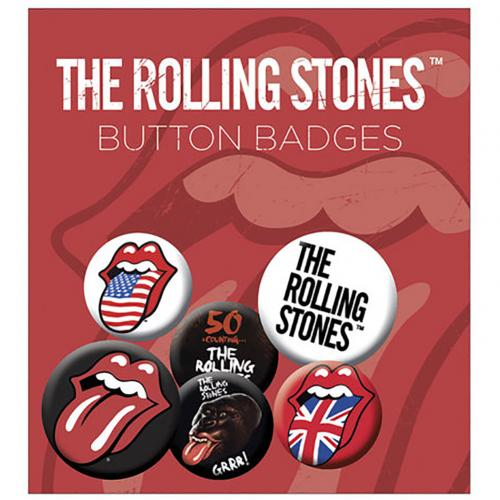Kit Chapitas The Rolling Stones