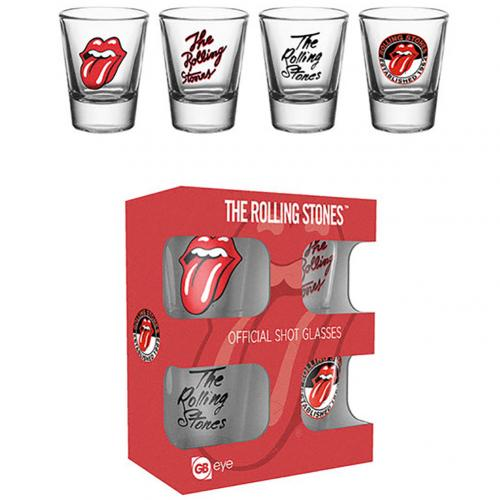 Pack Vasos de Chupitos The Rolling Stones