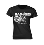 Camiseta Ramones GABBA GABBA HEY CARTOON