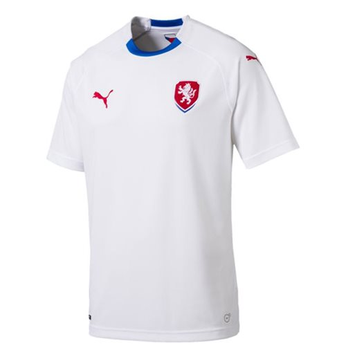 Camiseta Republica Checa Fútbol 2018-2019 Away