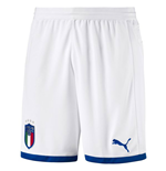Shorts Italia Fútbol 2018-2019 Home (Blanco)