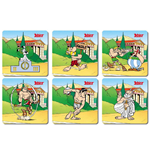 Asterix Pack de 6 Posavasos Olympic Games