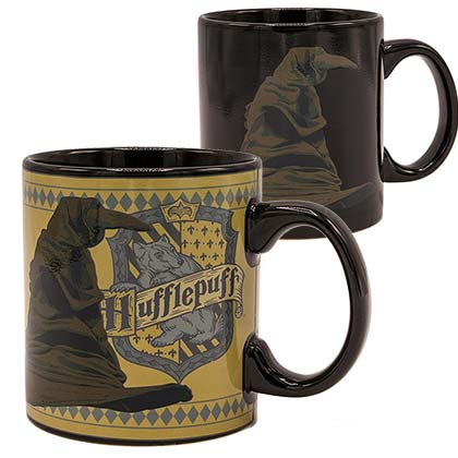Taza Harry Potter Sorting Hat Hufflepuff 20oz