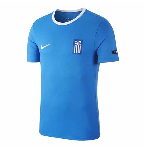 bdef880697d0a Compra Camiseta Grecia Crest 2018-2019 (Azul oscuro) Original