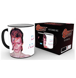 David Bowie Taza sensitiva al calor Aladdin Sane