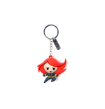 Marvel Llavero caucho 3D Black Widow Character 7 cm