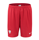 Shorts Polonia Fútbol 2018-2019 Away (Rojo)
