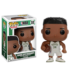NBA POP! Sports Vinyl Figura Giannis Antetokounmpo (Milwaukee Bucks) 9 cm