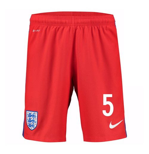 Shorts Inglaterra Fútbol 2016-2017 Away