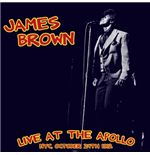 Vinilo James Brown - Live At The Apollo: Nyc, October 24Th 1962