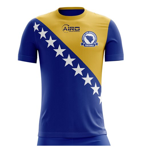 Camiseta Bosnia 2018-2019 Home