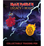 Iron Maiden Legacy of the Beast Pack de 2 Chapas Clairvoyant & Wicker Man