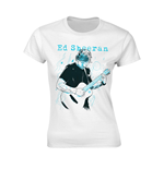 Camiseta Ed Sheeran Guitar Line Illustration