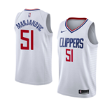 Camiseta Los Angeles Clippers Boban Marjanovic Nike Association Edition Réplica