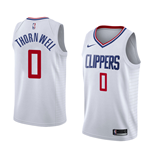 Camiseta Los Angeles Clippers Sindarius Thornwell Nike Association Edition Réplica