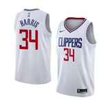 Camiseta Los Angeles Clippers Tobias Harris Nike Association Edition Réplica