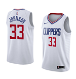 Camiseta Los Angeles Clippers Wesley Johnson Nike Association Edition Réplica