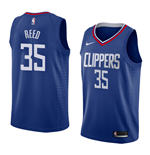 Camiseta Los Angeles Clippers Willie Reed Nike Icon Edition Réplica
