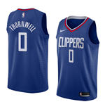 Camiseta Los Angeles Clippers Sindarius Thornwell Nike Icon Edition Réplica