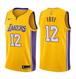 Camiseta Los Angeles Lakers Channing Frye Nike Icon Edition Réplica