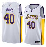 Camiseta Los Angeles Lakers Ivica Zubac Nike Association Edition Réplica