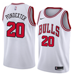 Camiseta Chicago Bulls Quincy Pondexter Nike Association Edition Réplica