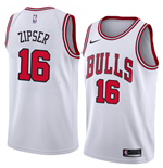 Camiseta Chicago Bulls Paul Zipser Nike Association Edition Réplica