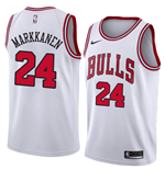 Camiseta Chicago Bulls Lauri Markkanen Nike Association Edition Réplica