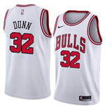 Camiseta Chicago Bulls Kris Dunn Nike Association Edition Réplica