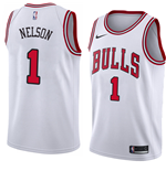 Camiseta Chicago Bulls Jameer Nelson Nike Association Edition Réplica