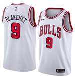 Camiseta Chicago Bulls Antonio Blakeney Nike Association Edition Réplica