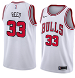 Camiseta Chicago Bulls Willie Reed Nike Association Edition Réplica