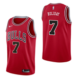 Camiseta Chicago Bulls Justin Holiday Nike Icon Edition Réplica