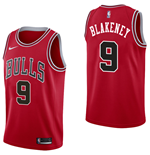 Camiseta Chicago Bulls Antonio Blakeney Nike Icon Edition Réplica