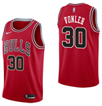 Camiseta Chicago Bulls Noah Vonleh Nike Icon Edition Réplica