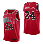 Camiseta Chicago Bulls Lauri Markkanen Nike Icon Edition Réplica