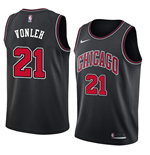 Camiseta Chicago Bulls Noah Vonleh Nike Statement Edition Réplica