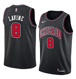 Camiseta Chicago Bulls Zach LaVine Nike Statement Edition Réplica