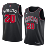 Camiseta Chicago Bulls Quincy Pondexter Nike Statement Edition Réplica